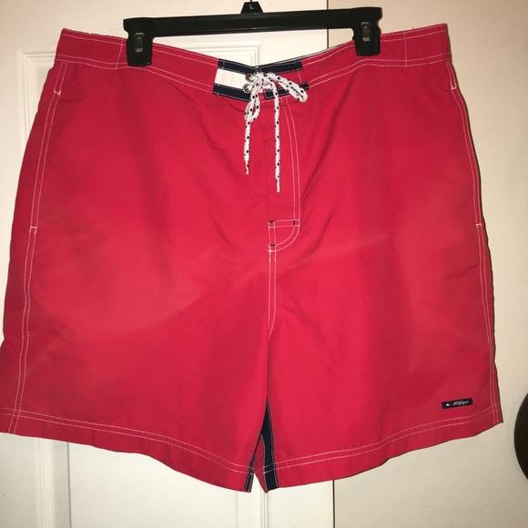 29e7c6ed3cc Tommy Hilfiger Red Men's Swimsuit Trunks XL. M_5b28cf48aa87702c791a3cd7